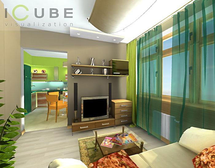 дизайн малогабаритных 3-х комнатных квартир фото