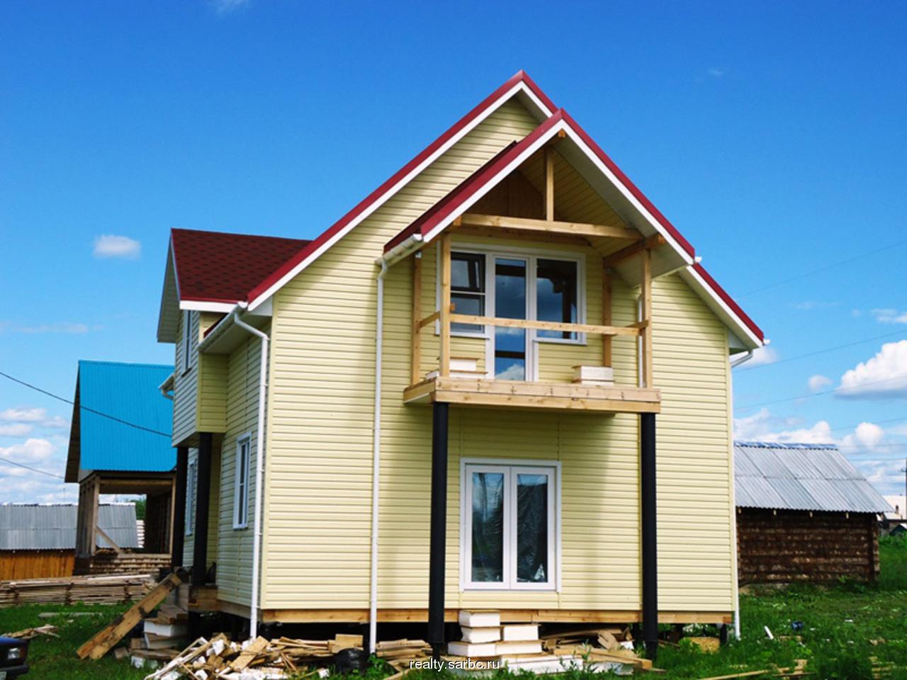 Продам дом 100 м2 площадь участка 10 соток, станция лесопиль.
